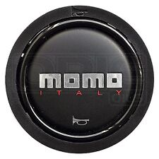 MOMO Standard 2 Contact Horn Button - Black Finish - Tuner / Team