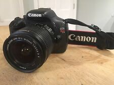 Canon EOS Rebel T2i with EFS 18-55 Lens in Working Condition