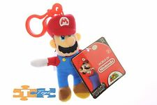 MARIO Clip-On Super Mario World of Nintendo 2017 Soft Push Keychain Figure NEW