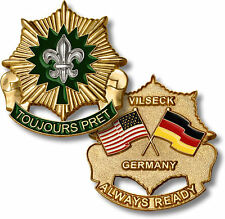 NEW 2nd Cavalry Regiment – Vilseck, Germany Challenge Coin. 61817.