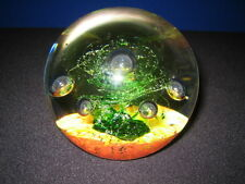 Lovely Scottish Selkirk Glass Paperweight c. 1987
