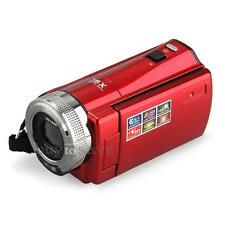 """HD Digital Kamera Camcorder Videokamera 16MP 720P 16X Zoom DV 2,7"""" TFT LCD Rot"""