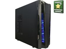Rosewill STAR PREDATOR Black Gaming ATX Mid Tower Computer Case w/ Blue LED Fans