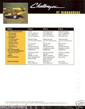 Farm Equipment Brochure - Challenger - Windrowers Disc Mowers  - 2002 (F2545)