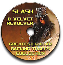 SLASH & SAMT REVOLVER STYLE MP3 HEAVY METAL ROCK GITARRE PLAYBACK JAM TITEL CD