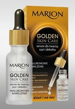 MARION GOLDEN SKIN CARE FACE NECK SERUM HYALURONIC MOISTURIZING DAY NIGHT