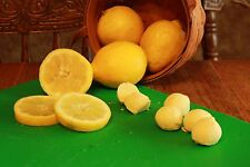 Lemon Truffles - White Chocolate Ganache inside and out - (BOX OF 4)