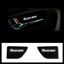 LED Door Plate Catch WHITE 2ea 1set For Hyundai 2003 2008 Tiburon : Tuscani