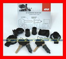 GIVI KIT SERRATURA 2 PZ SECURITY LOCK SL102 X BAULETTO E VALIGIE TRK V46 V47