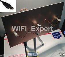 WiFi Antenna MACH1GA Double Biquad Wireless Booster Long Range GET FREE INTERNET