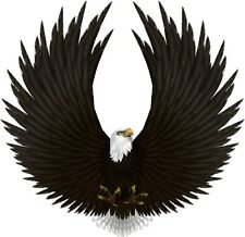 EAGLE Decal AMERICAN Biker MOTORCYCLE USA Wall Car Vinyl Bumper Sticker