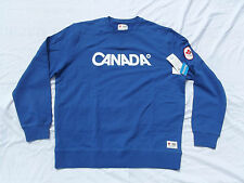 Vancouver 2010 Winter Olympic New Blue CANADA Sweat shirt Mens X-Large original
