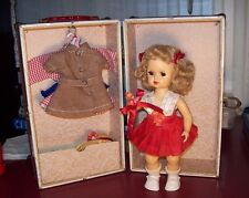 "Sweet 10"" Tiny Terri Lee  Doll with 4 Original Outfits & Extras W/ Vintage Trunk"