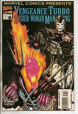 Marvel Comics Presents #167 Vengeance Turbo Spider Woman Man Thing VF+