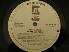 The Korgis - Dumb Waiters - Promo LP LISTEN Everybody's Got To Learn Sometime