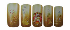 Chinese New Year Design Nail Art Water Decals Stickers For Natural/False Nails