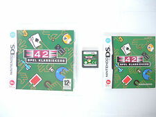 CLUBHOUSE GAMES 42 SPEL KLASSIEKERS complete in box with manual Nintendo DS game