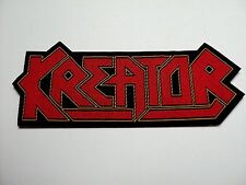 KREATOR  LOGO  SHAPED WOVEN  PATCH