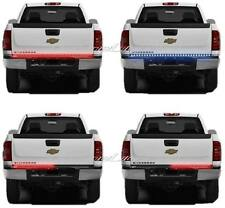 "60"" Red & White LED Tailgate Tail Lights Back-Up Light Bar Strip Chevy Silverado"