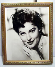 Vintage AP Wide World Photos Picture Of Ava Gardner w/ Backstamp & Dated