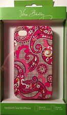 Vera Bradley~ PAISLEY MEETS PLAID ~ SNAP ON Hybrid Hardshell Case for iPhone 4