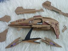 STAR TREK VOYAGER KAZON FIGHTER PLASTIC MODEL KIT Pre-made REVELL Painted