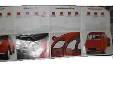 Prospekt Sales Brochure Citroen 2CV4-16 Auto Car автомобиль 2CV Technische Daten