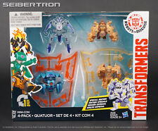 MINI-CON 4-PACK Transformer Robots Disguise Swelter+Beastbox+Undertone+Backtrack