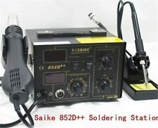 220V Hot Air Gun Saike 852D Soldering Tools New 2 In 1 Rework Station I