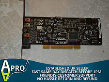 TESTED & WORKING - ASUS XONAR DG LI6CM8786 SOUND DOLBY PCI CARD UK SELLER - S