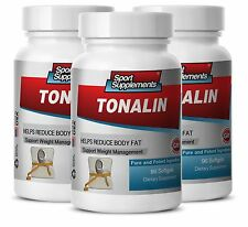 TONALIN. Weight Management. Helps Reduce Body Fat (3 Bottles) Free Shipping
