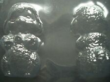 2 on 1 LARGE SPRING LAMB CHOCOLATE MOULD/MOULDS/3-D/SHEEP/UNUSUAL EASTER GIFT