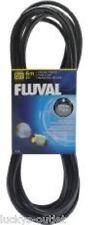 Fluval Airline Tubing - Black - 20 Ft Ultra Flex Aquarium Rubber Air Hose Hosing