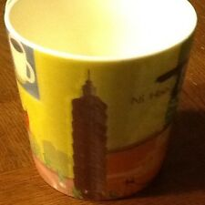 STARBUCKS 2006 TAIWAN TAIPEI CITY MUG CUP NEW Limited Edition