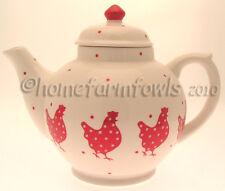 New little red hen tea pot, poulet/volaille/cuisine/poulet cadeaux