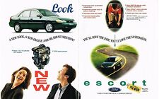 PUBLICITE  1996  USA  FORD   ESCORT  (2 pages)