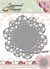 Dixi Craft / Floral / Circle / Frame / Die / Cutting / PM10082 /Flowers
