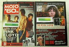 MOJO 60s Magazine PINK FLOYD Early Years Special JEFFERSON AIRPLANE + 2 Posters