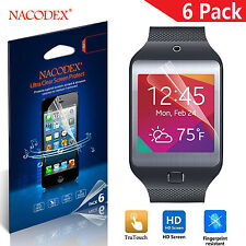 6X Nacodex HD LCD Clear Screen Protector Shield Film For Samsung Gear 2 Neo R381