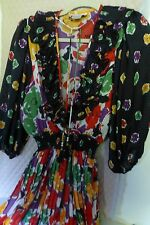 Woman's Dress by Indigo Lites; one size fits all; 100% polyester; fun multicolor