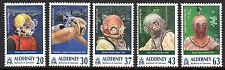 Alderney - 1998 Diving gear - Mi. 116-20 MNH