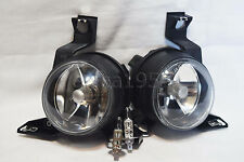 For 01-05 Beetle Glass Driving Fog Lights Lamps RL H One Pair W/2 Bulbs NEW
