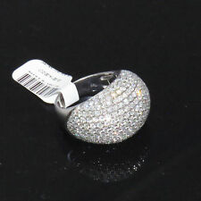 NYJEWEL 14k W Gold Brand New Breathtaking 6ct Diamond Pave Dome Ring $11999