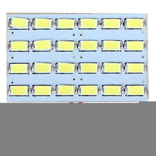 LED 12V 3W 24 SMD 5730 Light Panel Board Car Dome Interior Reading Lamp Buld