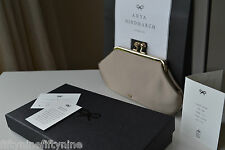 NEW AUTHENTIC ANYA HINDMARCH MAUD Mushroom Wedding Clutch Bag £475 Boxed GIFT