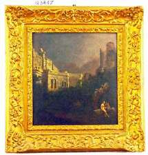 Olio su legno, Mura di Roma / Oil on wood, Walls of Rome, Q3847