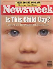 FEB 24 1992 - NEWSWEEK magazine (UNREAD - NO LABEL) - ORIGINS OF HOMOSEXUALITY