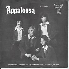 """APPALOOSA """"Rosie""""/""""Saved By Rock & Roll"""" Concord 003 w/PIC SLEEVE 45 rpm Record"""