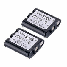 Lot of 2 Pcs Home Telephone Battery for Panasonic P-P511 ER-P511 HHR-P402 Set