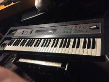 Ensoniq SQ80 nice W/ Roadcase  2 Sound Carts 1280 &Voice Crystal X +UPGRADE KIT